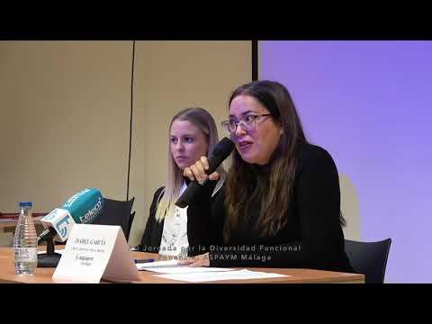 Jornada por la diversidad funcional, ponencia ASPAYM