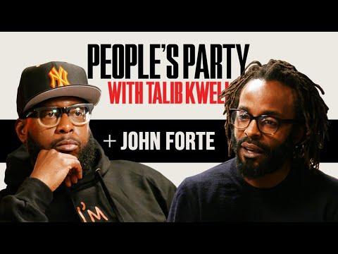Talib Kweli & John Forte Talk Fugees, DMX Cypher, Liquid Cocaine Arrest, Jail Time | People's Party