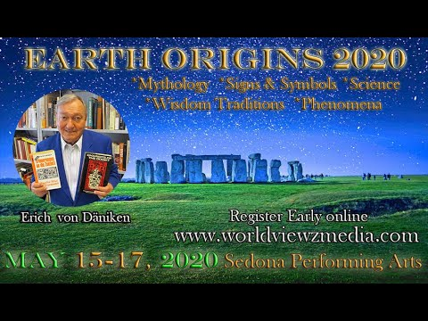 Erich von Däniken  interview for Earth Origins 2020 Conference in Sedona May 15-17, 2020