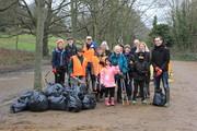 Spring Litter Clear in Alexandra Park