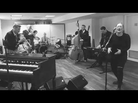 The Jive Aces Rehearsal with Gina Haley - It Won't Be Long (Aretha Franklin Cover)