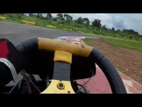 One lap at Kartódromo Municipal De Várzea Grande