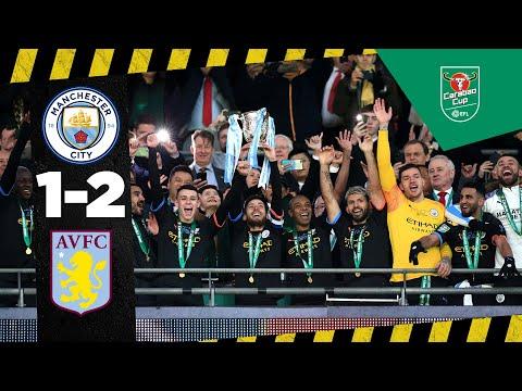 ฟูลแมตช์+ ไฮไลท์เต็ม Aston Villa 1-2 Man City | Carabao Cup Final