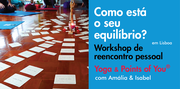 "WORKSHOP: Yoga + Points of You® ""Como está o seu equilíbrio?"""