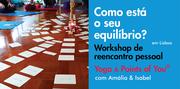 """WORKSHOP: Yoga + Points of You® """"Como está o seu equilíbrio?"""""""