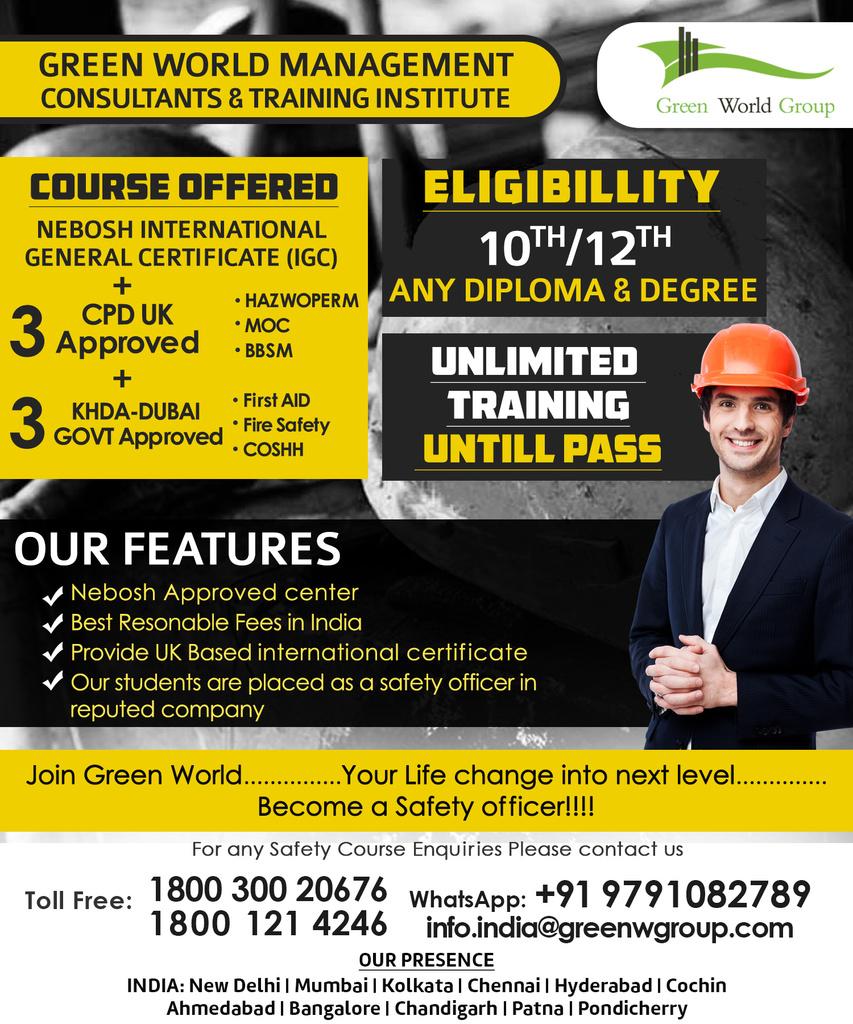 Nebosh Igc Training Course Chennai Online Safety Community