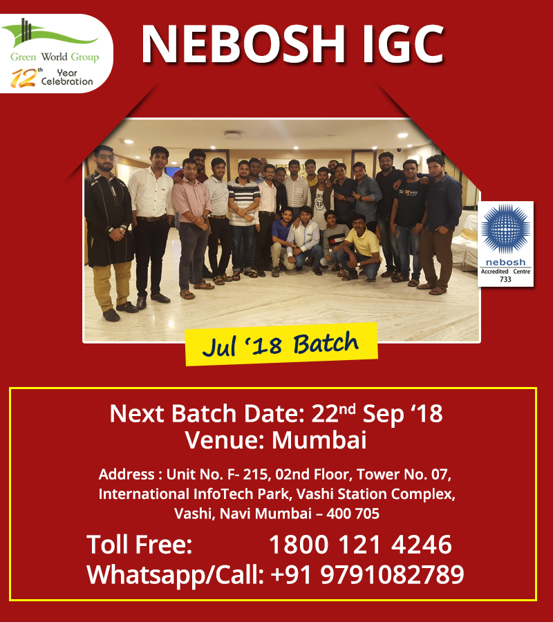 Looking For A Recognized Nebosh Course Training In Mumbai Online