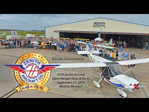Zenith Homecoming: Annual Open Hangar Days at the Zenith Aircraft factory