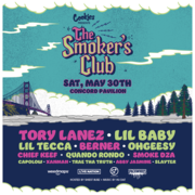 The Smoker's Club feat. Tory Lanez, Lil Baby, Lil Tecca, Berner and many more!
