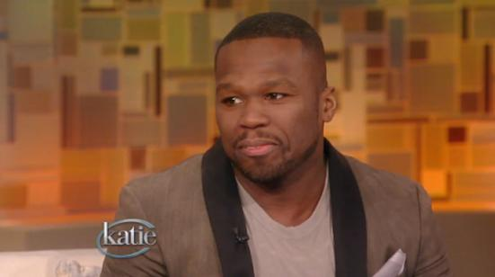 50 Cent On Katie Couric: Talks Losing His Mom At An Early