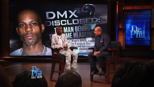 DMX Speaks To Dr  Phil About His Drug Addiction, $1 2