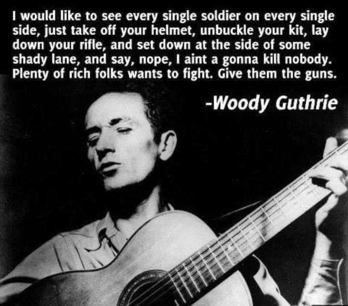 Woody Guthrie_give the rich people the duty to fight