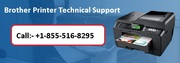 Brother Printer Technical Support +1-855-516-8295,
