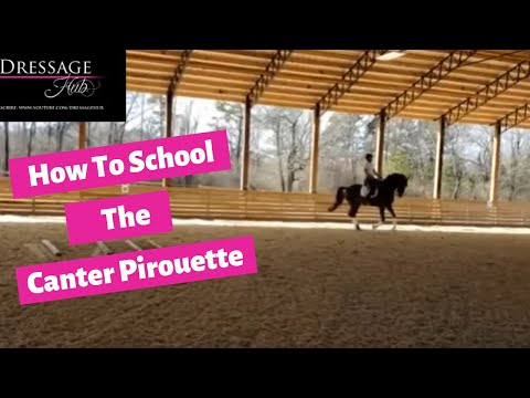 How To School The Canter Pirouette With Conrad Schumacher