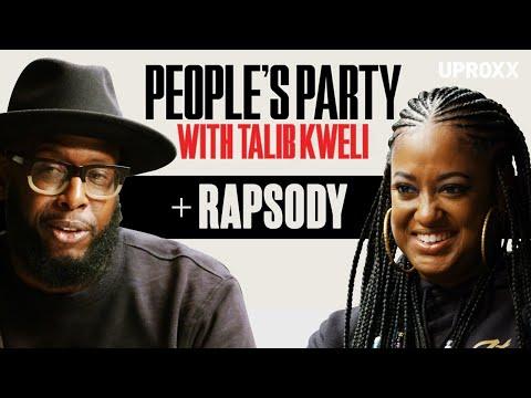 Talib Kweli & Rapsody Talk Rap Influences, Being Pro Black, Kendrick, Jay Z, Eve | People's Party
