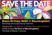 Bokas Birthday Bash at Bloomingdale's