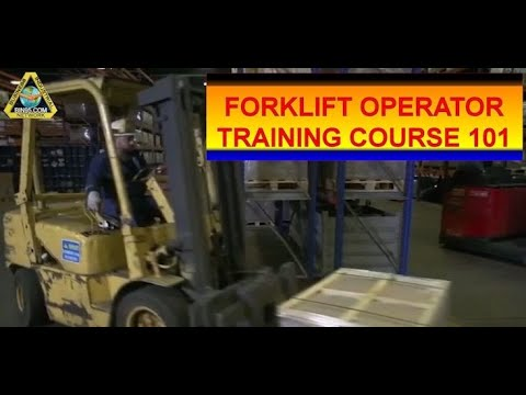 Forklift Operator Training 101 - Types of Forklift Sample