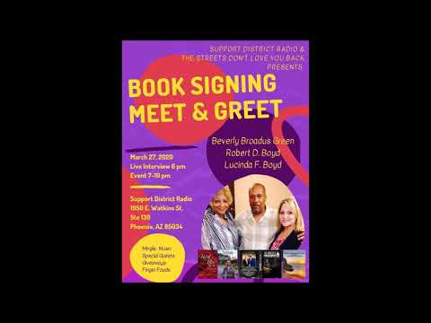 2020 UPCOMING EVENT BOOK SIGNING PROMO