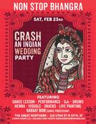 Non Stop Bhangra-Crash An Indian Wedding Party