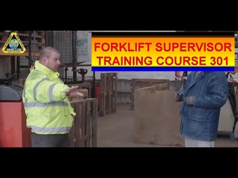 Forklift Supervisor Training 301 - Forklift driver evaluation