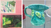 Ceramic Forms and 2D thematic work