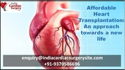 Affordable Heart Transplantation An approach towards a new life