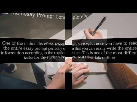 Top Secrets of Writing Powerful Scholarship Essay ( Scholarship Essay Help)