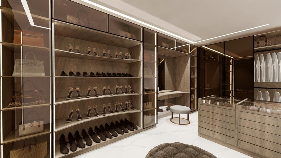 High-end Walking Closet