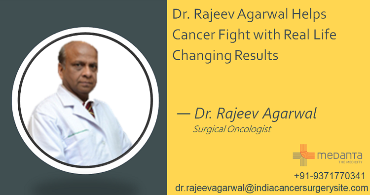 Dr. Rajeev Agarwal Helps Cancer Fight with Real Life Changing Results