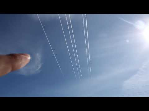 6 chemtrails at once