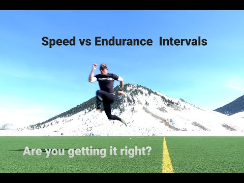 Speed vs Endurance Intervals: Are You Getting It Right?