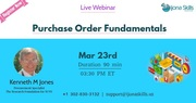 Purchase Order Fundamentals