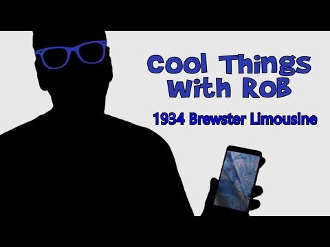 Episode 2 - 1934 Brewster Limousine