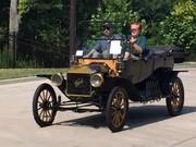 1914 Model T touring car