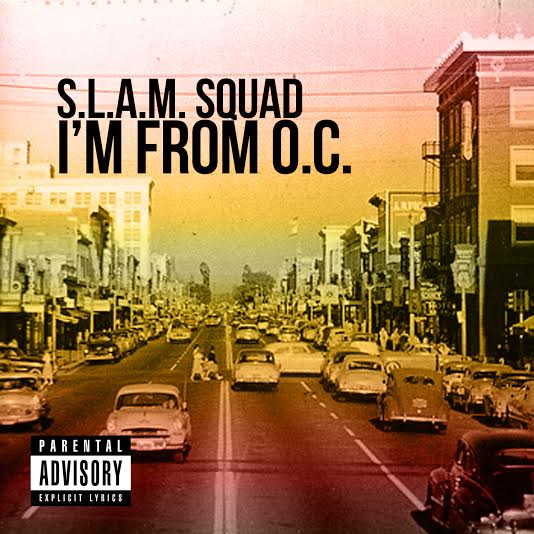 slam squad im from oc cover