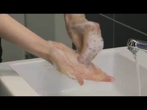 WHO: How to handwash? With soap and water