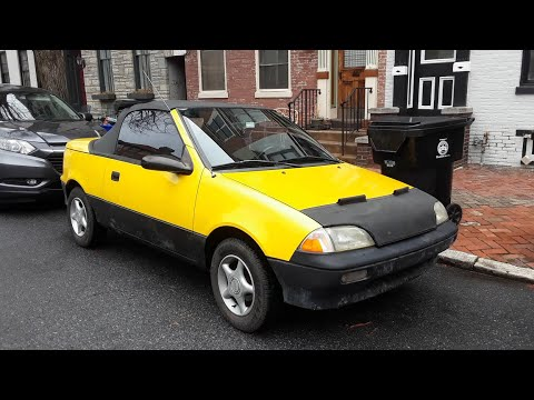 "Virtual Car Show  entry My Daily Driver  1991 Geo Metro Convertible "" The Flea """