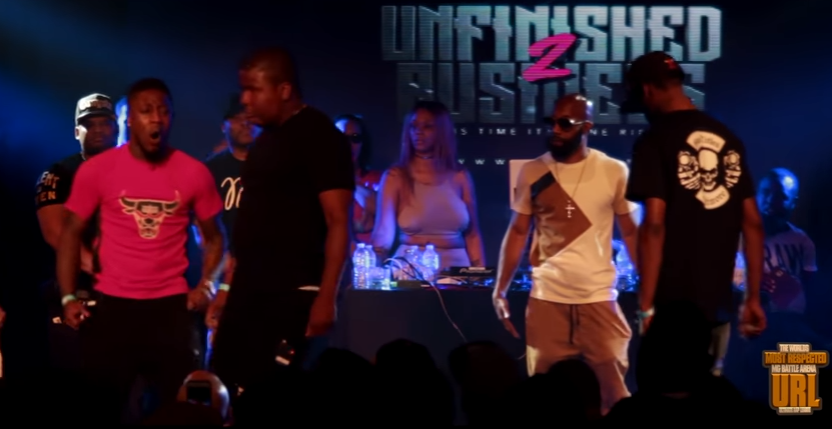 Smack/URL Rap Battle: DNA & K-Shine (NWX) Vs Tsu Surf & Tay