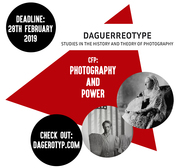 CFP - Photography and power - 'Daguerreotype. Studies in the history and theory of photography'