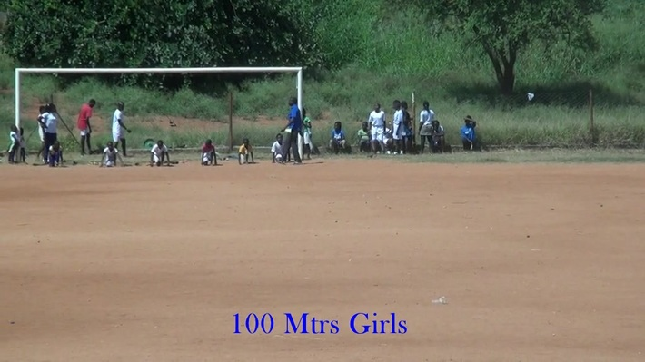 100 mtrs Girls and Boys