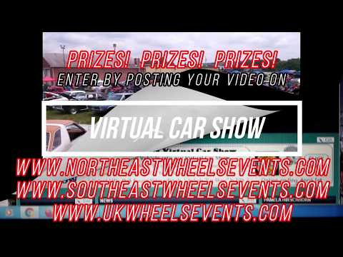 Virtual Car Show  How To Upload A Video and Enter On UKWheelsEvents and NortheastWheelsEvents