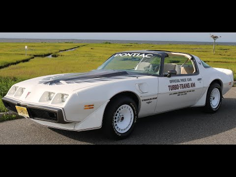 CAR SHOW - 1980 Pontiac Turbo Trans Am Indy 500 Pace Car Walk Around