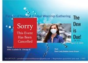 event flyer cancelled