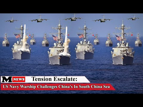 Tension Escalate (March 19, 2020): US Navy Warship Challenges China's In South China Sea