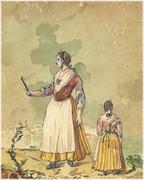 Donna del Paese di S.Lucia di Erchie
