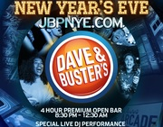 Dave Busters Hollywood New Years Party For All Ages