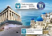 Crucero Islas Griegas Jóvenes 2018  Régimen TODO INCLUIDO desde 1399€ tasas incluidas
