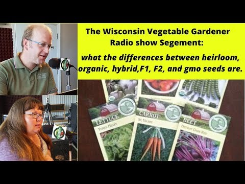 Segment 1 of S4E2 The Differences between seeds- Garden talk radio