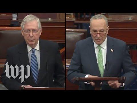 WATCH LIVE: Senators clash as Congress remains deadlocked over coronavirus economic stimulus bill