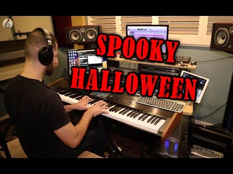 Spooky Halloween - Harpsichord and Orchestra